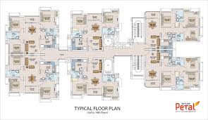 petal typical floor plan 3rd to 14th floor