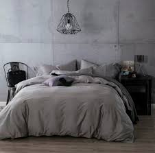 Gray Bedding Sets Luxury Gray Grey Cotton Bedding Sets Sheets
