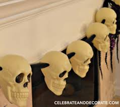 halloween skull garland diy celebrate u0026 decorate