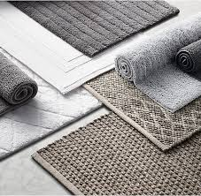 Thick Bathroom Rugs Rh S Cotton Bath Rug Woven Of Thick Tufted Cotton Pile
