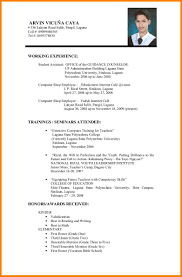 Format Of A Resume Example Of A Resume For Applying A Job Augustais