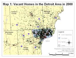 Detroit Metro Map by Article Maps U0026 Charts Origins Current Events In Historical