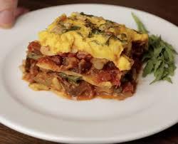cuisine lasagne lasagne caponata bosh