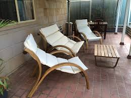 Barcelona Outdoor Furniture by Luxury 4 Piece Outdoor Wooden Furniture Set