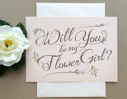 will you be my flower girl gift will you be my flowergirl the cutest ways to ask so sue me