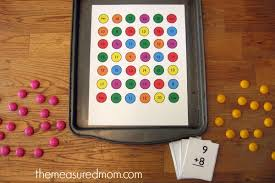 printable addition game for the tougher math facts the measured mom