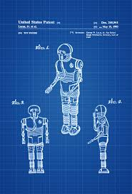 Star Wars Office Decor Star Wars Medical Droid Patent Poster Patent Print Wall Decor