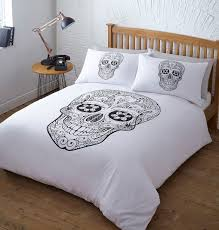 bedroom his and hers skull bedding twin skull bedding sets sugar