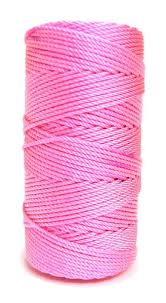 rosary twine pink with pizzazz 36 knotted rosary cord twine rosary cord pink