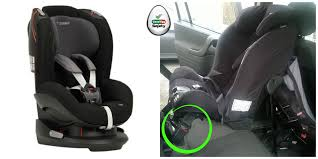 nissan qashqai isofix points what does buckle crunch mean good egg safety