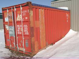20 u0027 genstar container with open top item 5374 sold febr