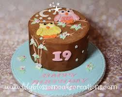 owl birthday cake two owl friends birthday cake birthday cakes liverpool
