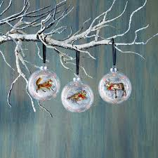 woodland friends floating ornaments x47321 baubles n bling