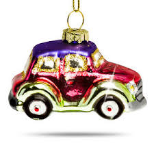 sikora bs405 tree ornament glass figure bauble vw