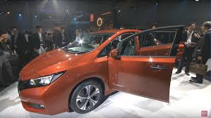 nissan minivan 2018 livestream of 2018 nissan leaf unveiling on september 5th 5 30pm