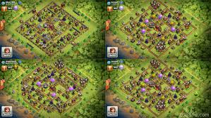 Coc Map Town Hall 11 And Halloween 2015 Update Clash Of Clans Land