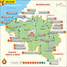 map of begium golf map belgium top 100 golf courses best destinations