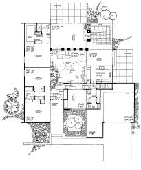 Spanish Home Plans House Plans Atrium House Plan With Courtyard Hillside Home Plans