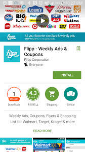 thanksgiving app flipp digital circular app save on thanksgiving dinner