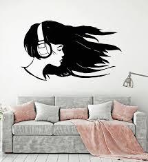 music wall decor vinyl wall decal musical headphones music lover teenager