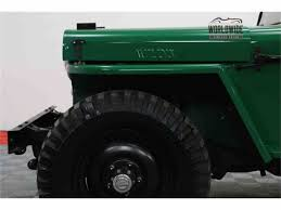 willys jeep truck green 1948 willys jeep for sale classiccars com cc 1005904