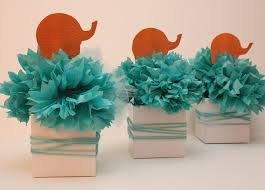 chevron u0026 elephant baby shower cake would change colors to navy