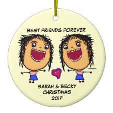 best friends tree decorations ornaments zazzle co uk