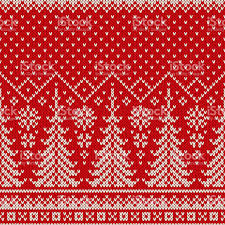 christmas pattern knit fabric winter holiday seamless knit pattern with a christmas trees and