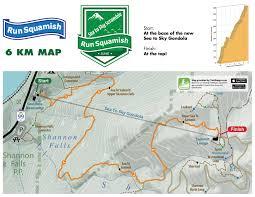 Map Your Run Sea To Sky Scramble Trail Run Run Squamish