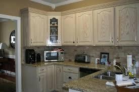 White Washed Cabinets Kitchen Refinish White Washed Oak Kitchen Cabinets