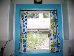 Designer Kitchen Curtains Enchanting Blue And Green Kitchen Curtains Designs Yellow Gallery