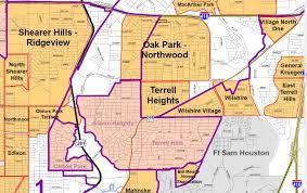 Neighborhood Map San Antonio Map Inside Loop 410