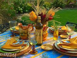 sandra lee thanksgiving tablescapes tablescape tuesday in every season