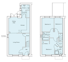 plot 57 the houghton 3 bed semi detached house meon vale st