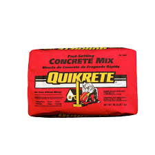 Mortar Mix For Patio Quikrete 50 Lb Fast Setting Concrete Mix 100450 The Home Depot