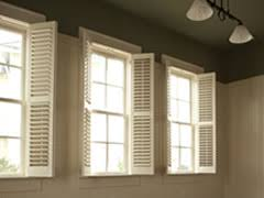 Interior Shutters For Windows Window Shutters Selection Tips U0026 Cost Estimates Improvement Center