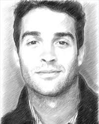 graphite pencil drawing from a photo portrait with akvis sketch