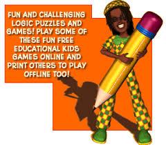 free kids educational learning logic games online