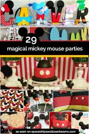 mickey mouse birthday party ideas 29 magical mickey mouse party ideas spaceships and laser beams