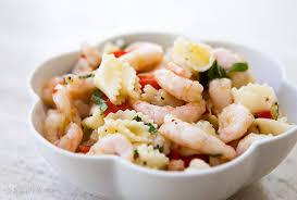 pasta salad with mayo shrimp pasta salad recipe simplyrecipes com