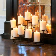 Large Floor Candle Stands by Decorating Wonderful Large Canterpiece Fireplace Candelabra For