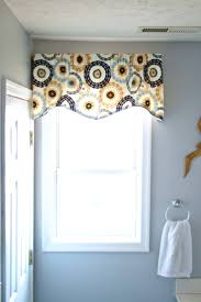 bathroom valance ideas entrancing images about valances balloon shades fabric for small