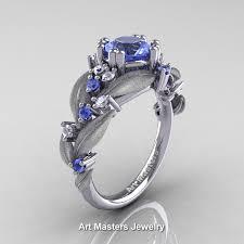 light blue sapphire engagement rings nature classic 14k white gold 1 0 ct light blue sapphire