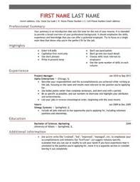 free resume templates template format examples samples amp writing