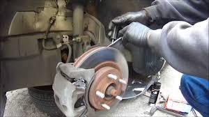 diy 2009 dodge avenger brake pad job easy and fast youtube