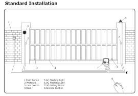 solar sliding gate opener kit heavy duty 800kg automatic slide