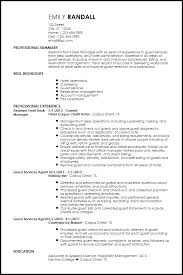 hospitality cover letter resume examples for regional sales