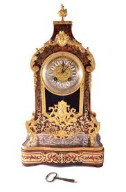 Mantel Clocks Antique Antique French Boulle Mantel Clock On Stand C 1870 At 1stdibs