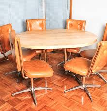 Chromcraft Dining Room Furniture Atomic Mid Century Modern Chromcraft Kitchen Table And Chairs Ebth