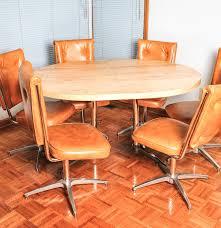 atomic mid century modern chromcraft kitchen table and chairs ebth